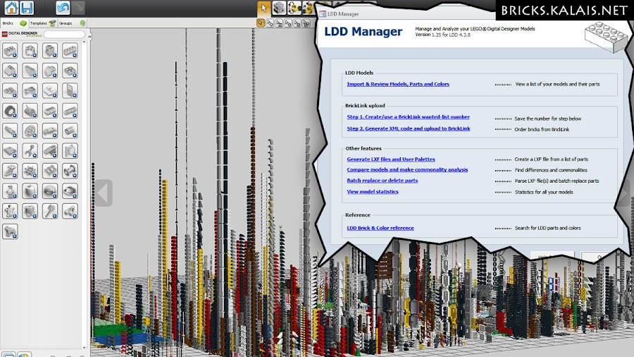 10. Some of my real parts uploaded into LDD via LDD manager. It is crazy! :)