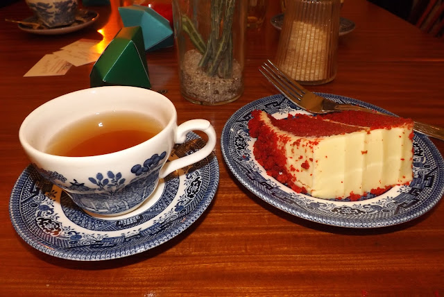 Hillarys Crafternoon - Tea & Red Velvet Cake