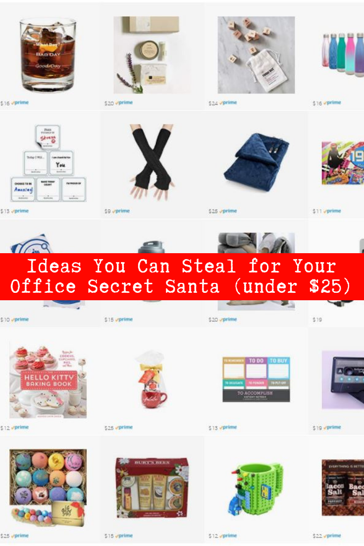 Ideas you can steal for your Office Secret Santa