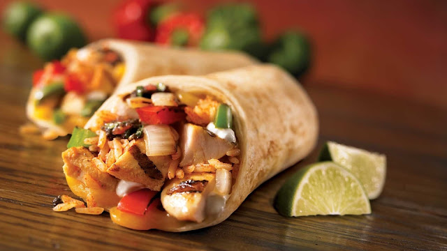 Chipotle Chicken Burritos recipe