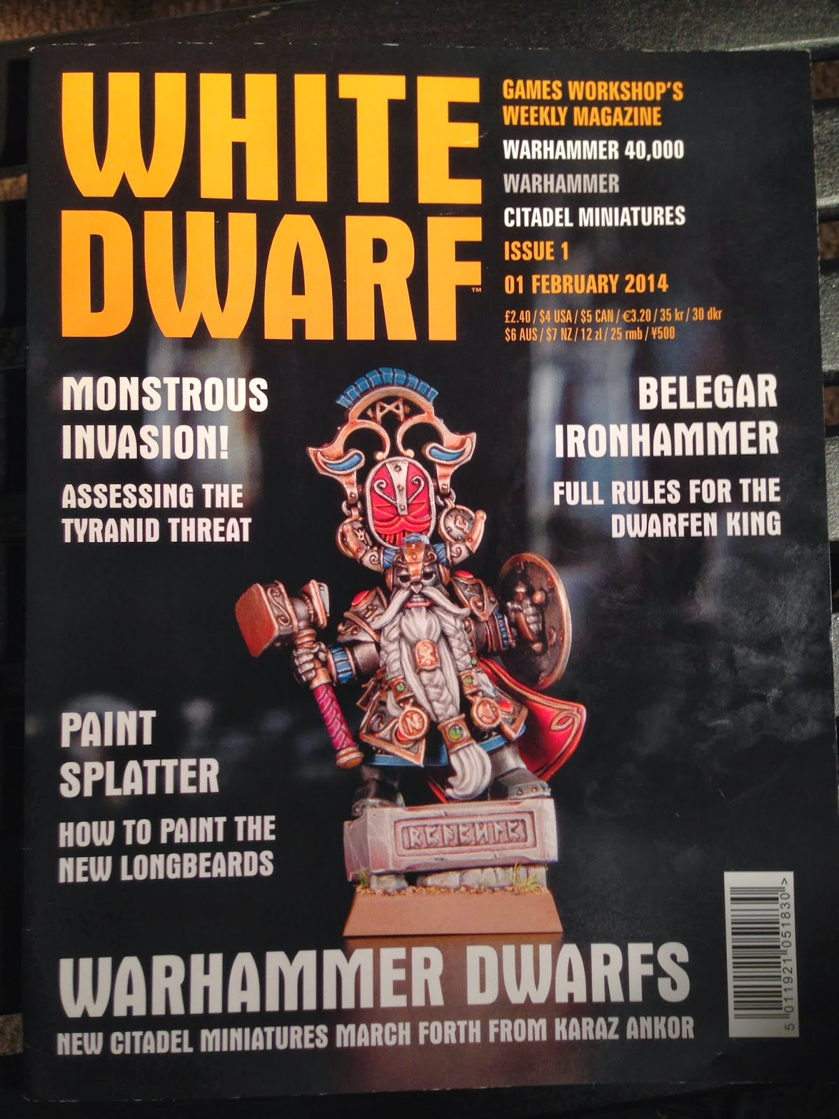 White Dwarf Weekly Issue 1 Review. | Wargaming Hub