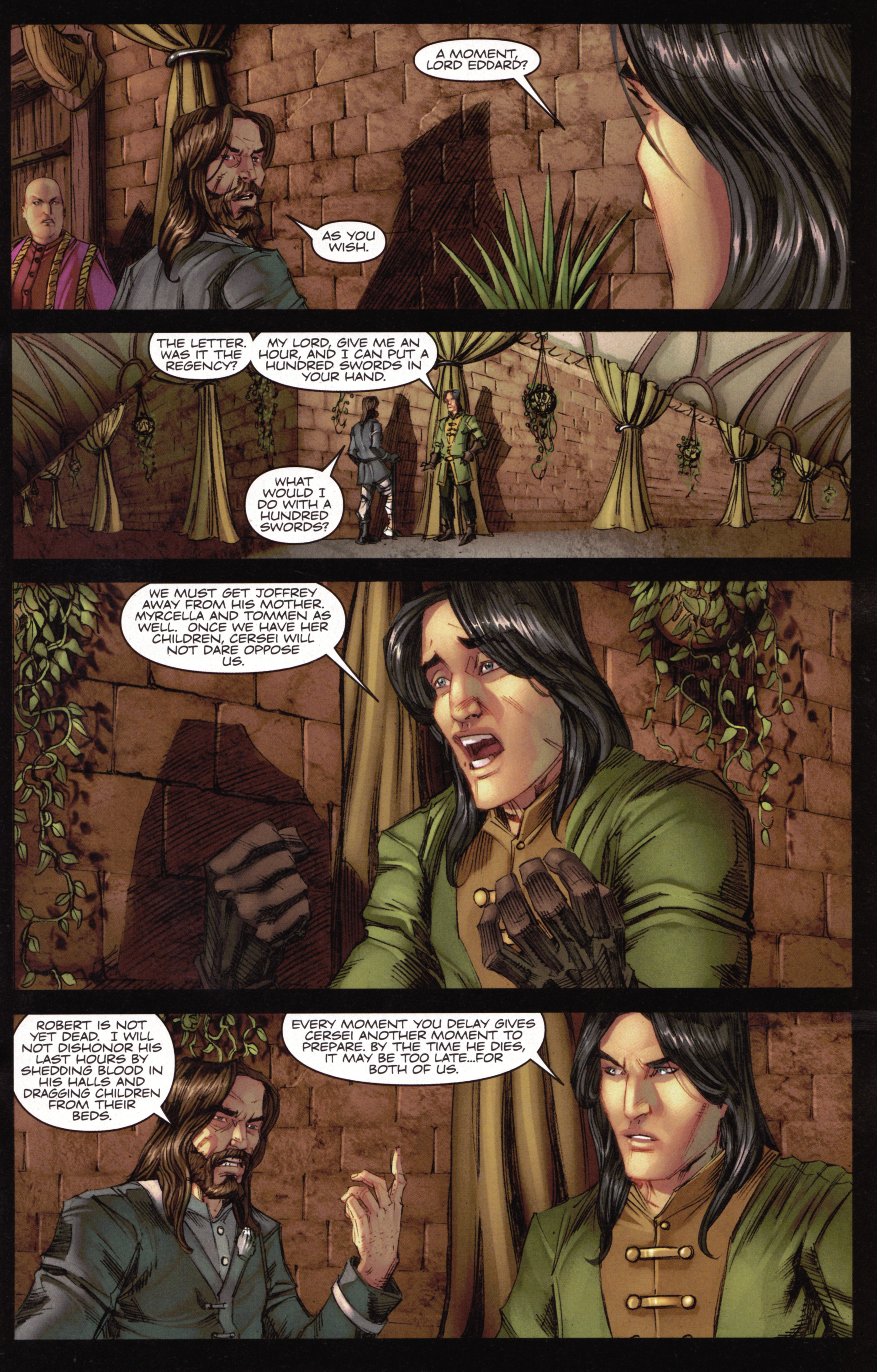 Read online A Game Of Thrones comic -  Issue #15 - 17