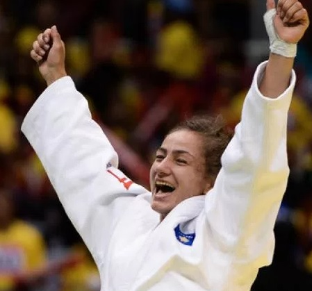 Majlinda Kelmendi declared the Judoka the year by IJF