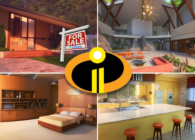 Incredibles 2 house images from Zillow