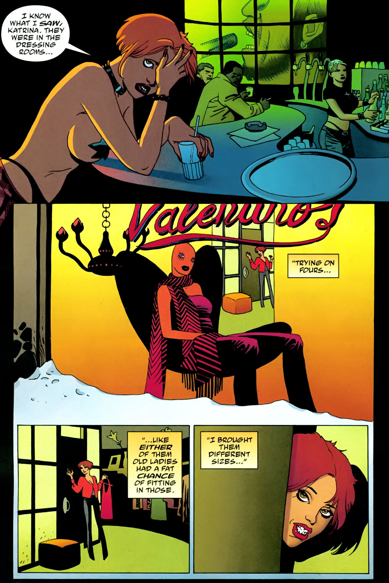 Read online 100 Bullets comic -  Issue #86 - 9