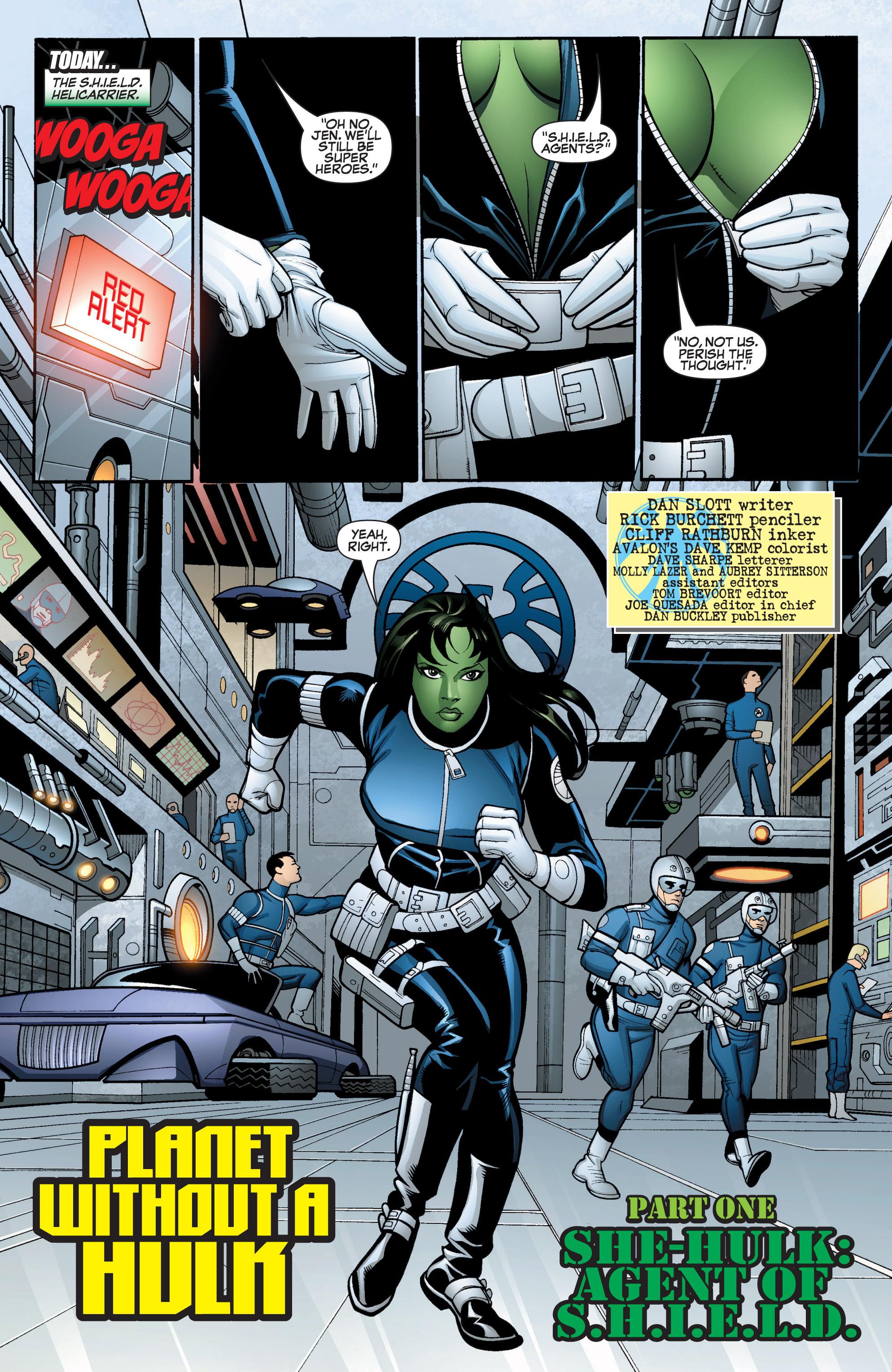 Read online She-Hulk (2005) comic -  Issue #15 - 5