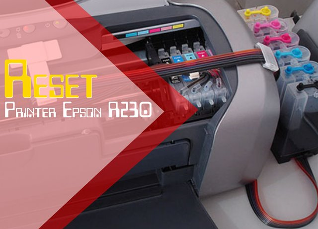 Cara Reset Printer Epson R230