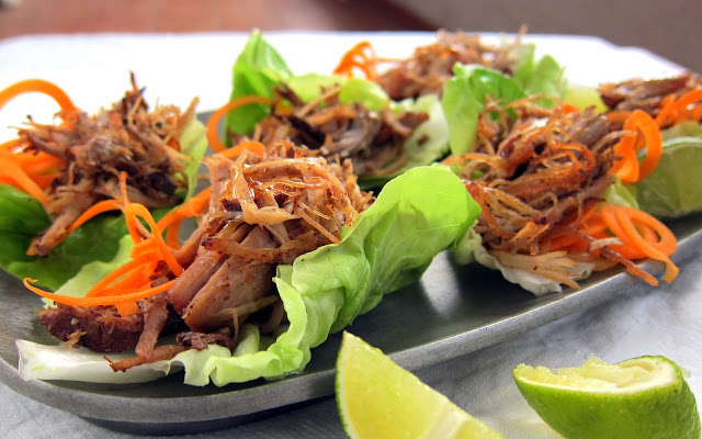 pressure cooker pulled pork carnitas