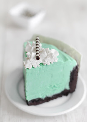 Mint White Chocolate Mousse Cake And A Book Trailer