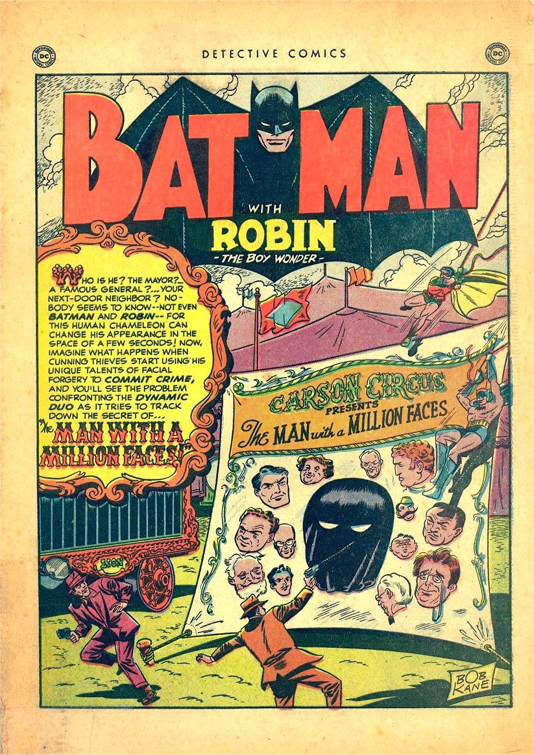 Detective Comics (1937) 166 Page 2