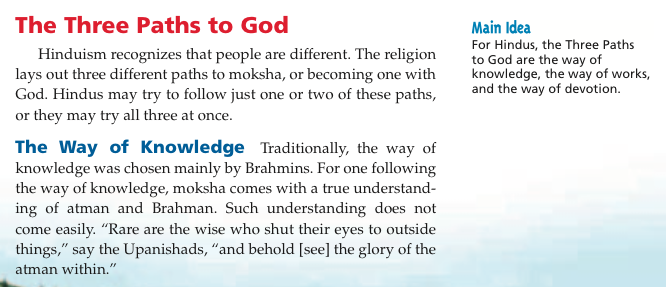 understanding the major teachings and beliefs of hinduism