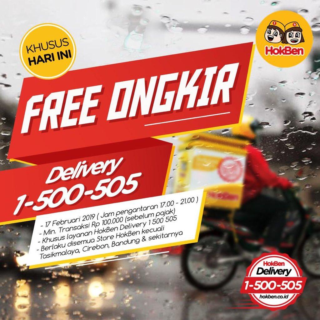 #HokBen - #Promo Gratis Ongkir Pesan Via HOkBen Delivery Call (HARI INI)