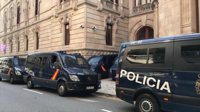Policía de España vigilará el Tribunal de Justicia de Cataluña
