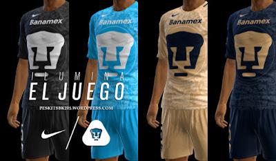 PES 2013 Pumas UNAM 2016-2017 GDB by BK-201