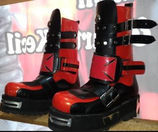 Harga Dan Model Sepatu Kulit Tinggi Pria Setelan Rocker