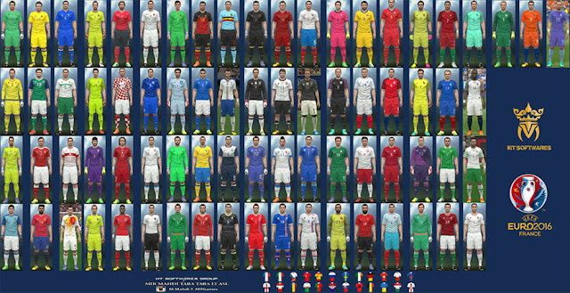 PES 2016 New Kitpack Euro 2016