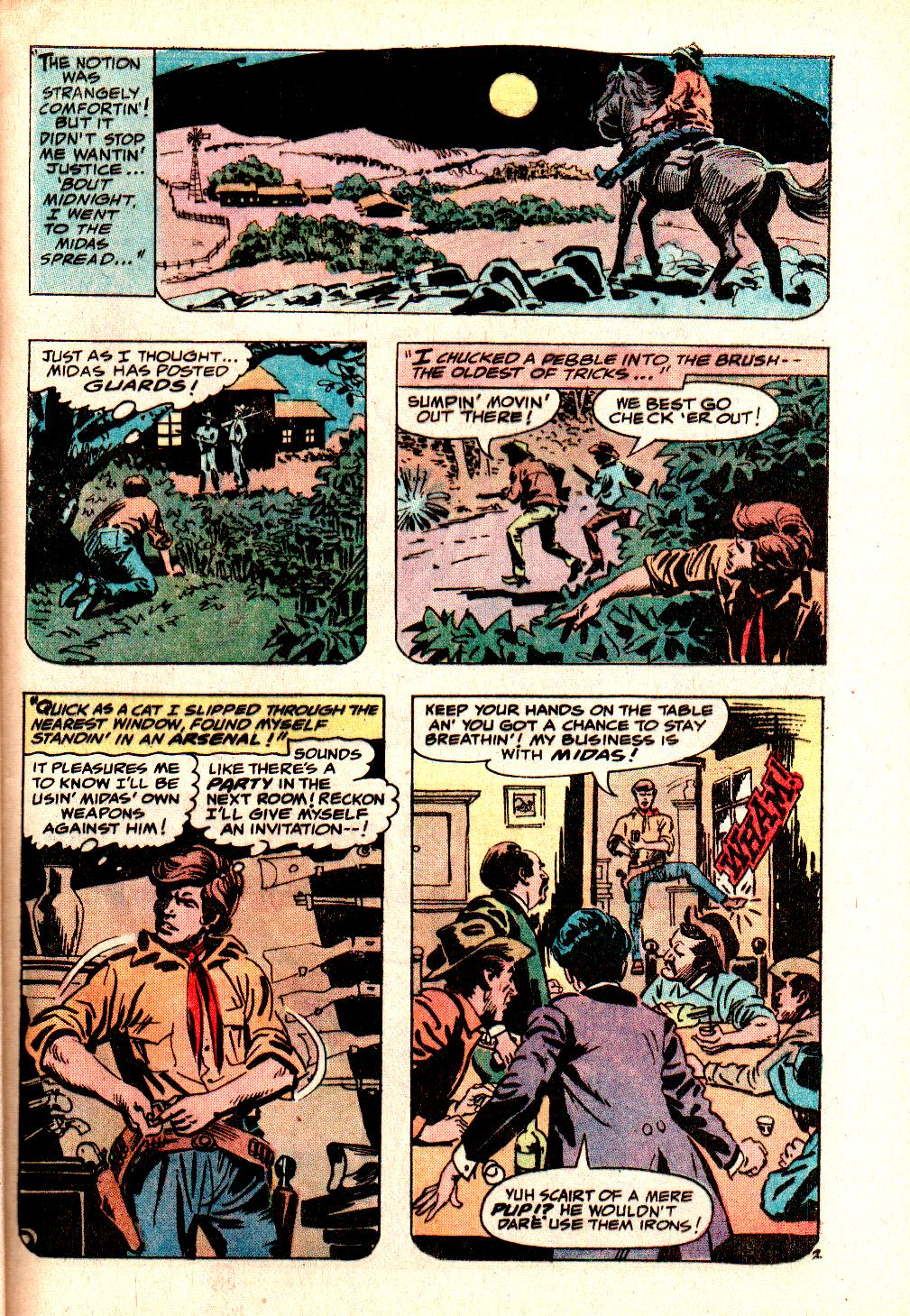 Read online All-Star Western (1970) comic -  Issue #10 - 37