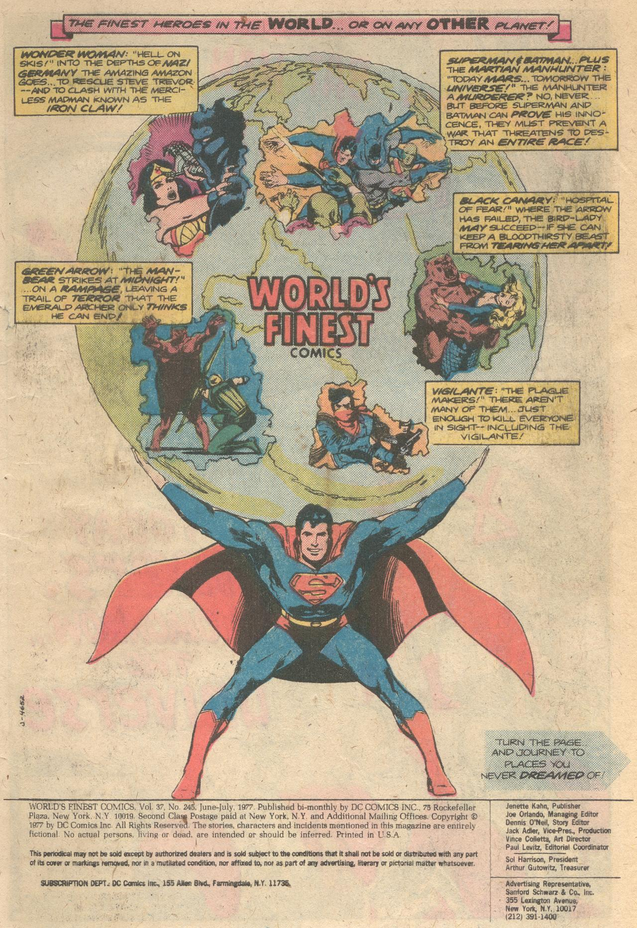 Read online World's Finest Comics comic -  Issue #245 - 2
