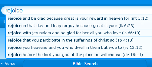 Quickly Search Bible Verses | Oh, Life! All Life