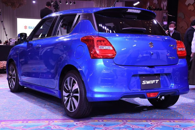 New 2017 Maruti Swift Blue