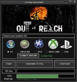 Out of Reach Key Generator (Free CD Key)