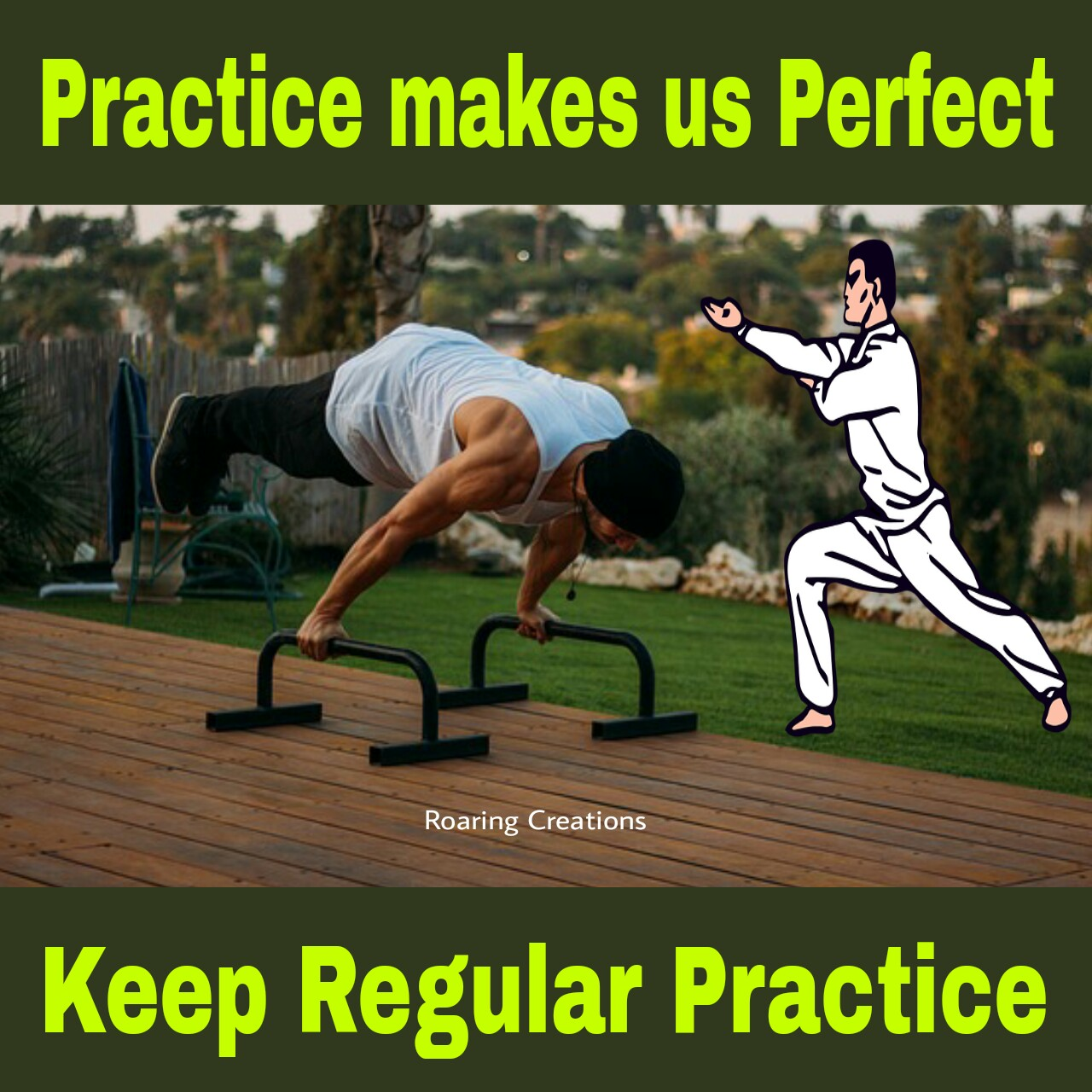 Practice makes us perfect