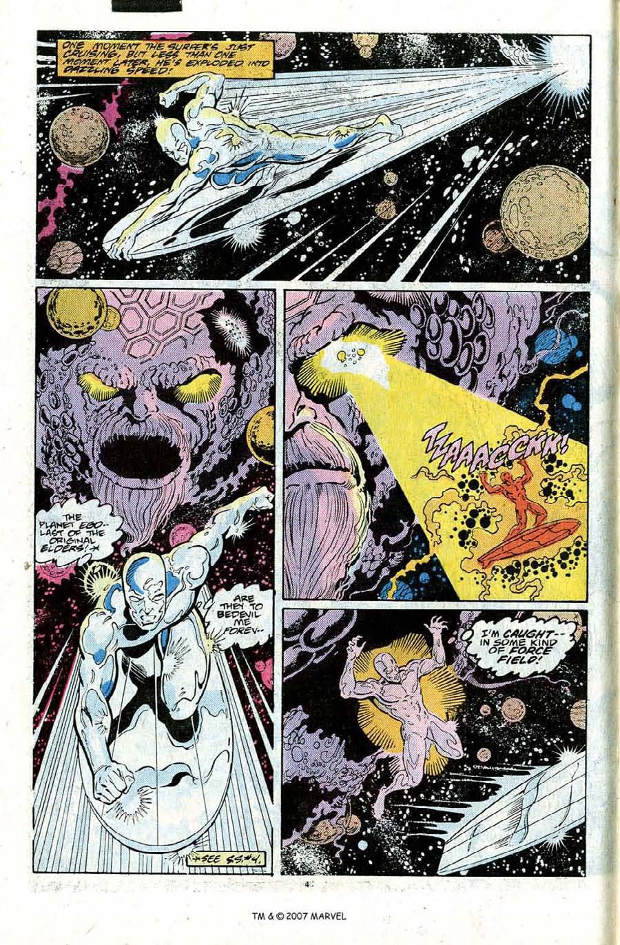 Read online Silver Surfer (1987) comic -  Issue #22 - 6