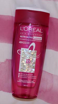 L'Oréal Paris Nutri Gloss Luminizer Shampoo