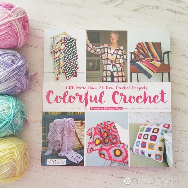 Marianne Dekkers-Roos of maRRose-ccc -- Colorful Crochet Book Review and Giveaway