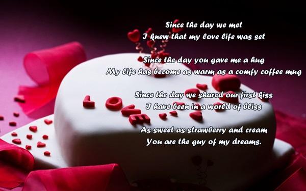 Cute Happy Birthday Poems for Your Boyfriend (Baby)