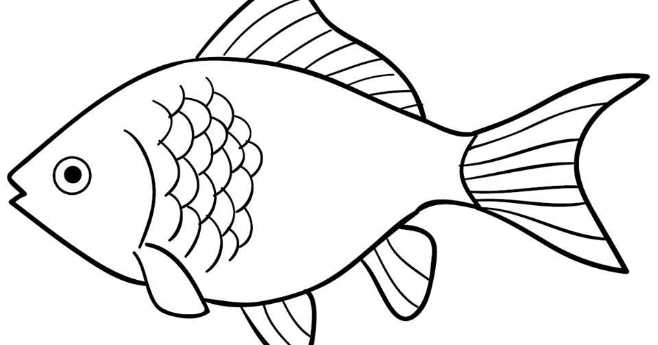 Ikan Mas Gambar Mewarnai Wwwimagenesmicom
