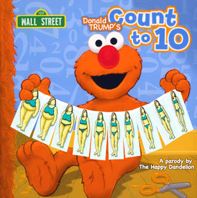 sesame street book, wall street parody,elmo,body shaming,