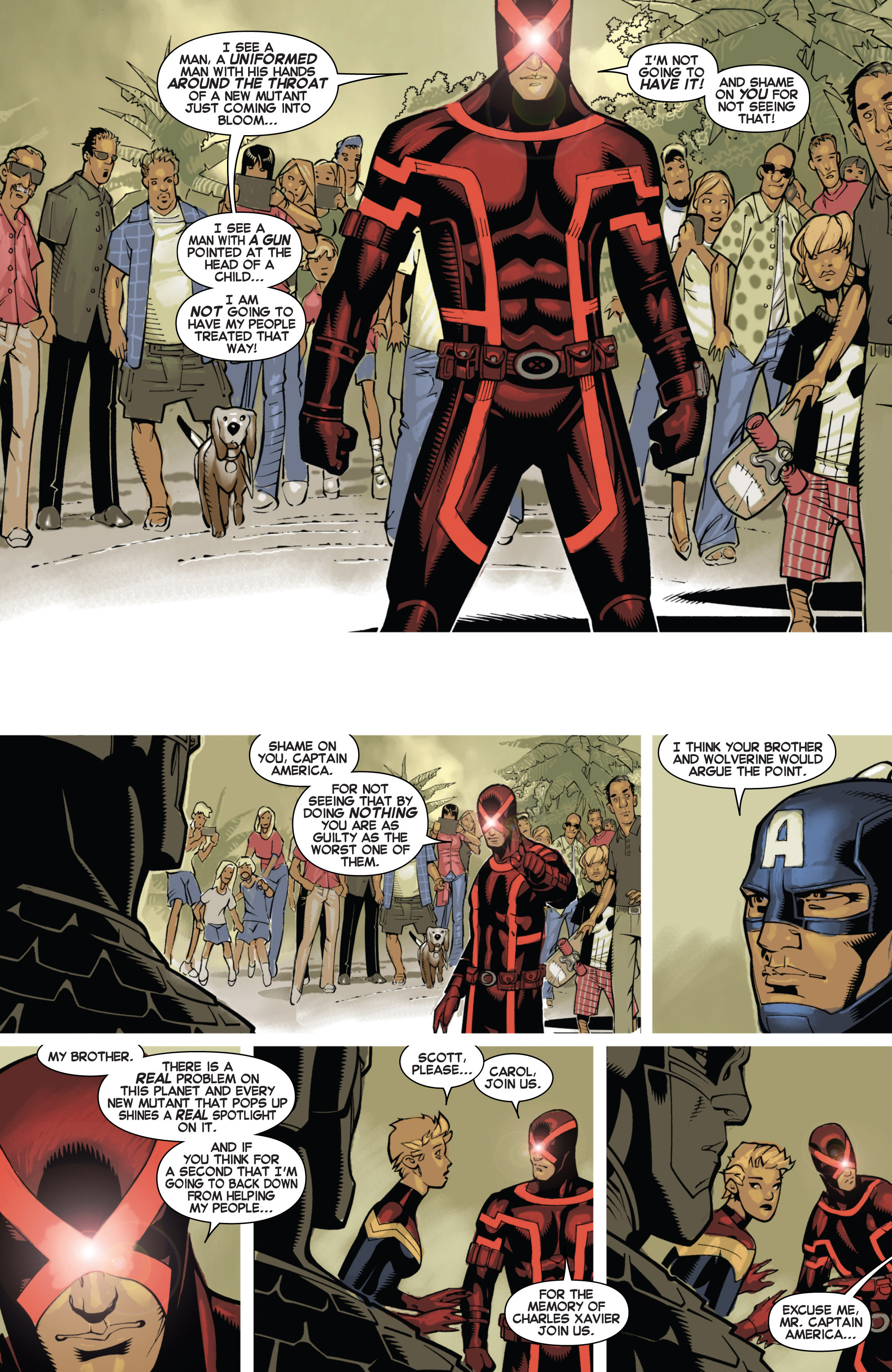 Read online Uncanny X-Men (2013) comic -  Issue # _TPB 1 - Revolution - 52