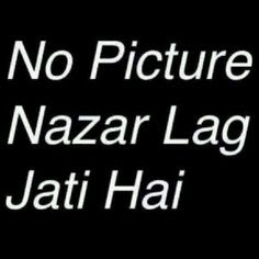 Best of Funny and attitude Whatsapp profile picture and image dp no picture Nazar lag jati hai