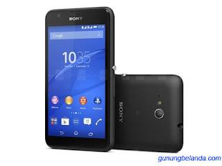 Cara Flashing Sony Xperia E4g E2053