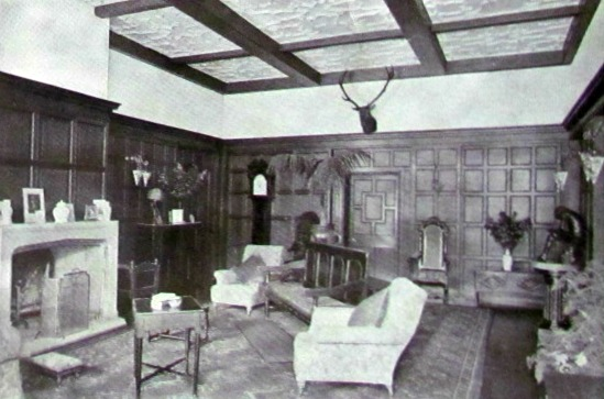 Photograph from the 1921 auction brochure for Camfield Place, part of The Peter Miller Collection