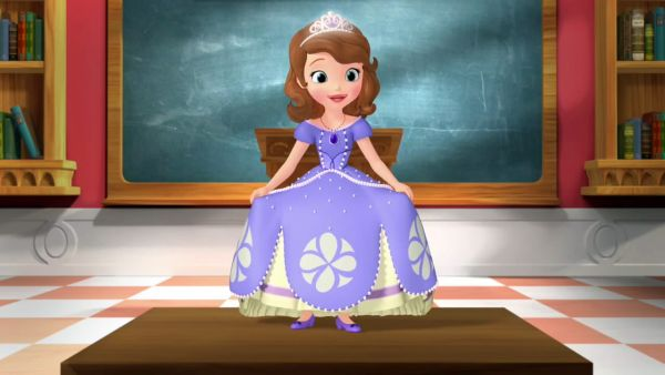 Princess Sofia want to show all that she's the first