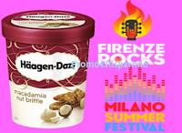 Logo ''Gusta la musica con Haagen-Dazs'' e vinci i biglietti per il tuo concerto preferito.