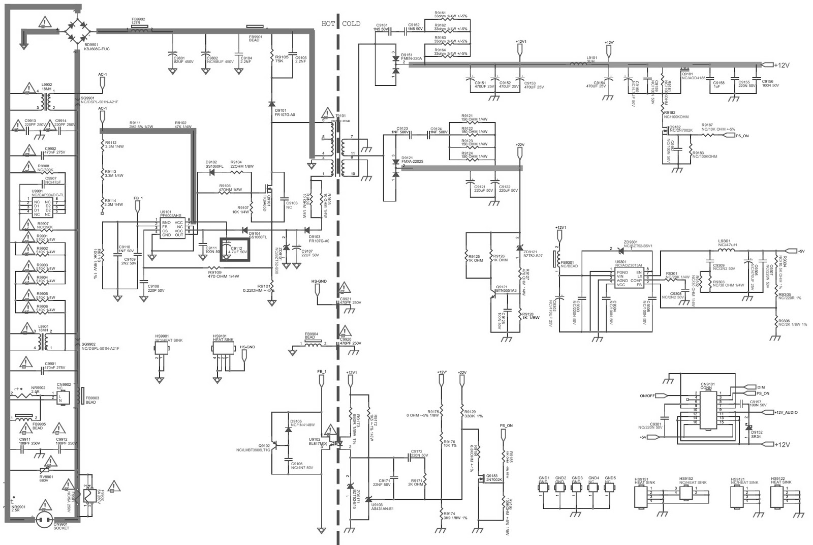 Electro Help Philips Lcd Tv Smps Circuit Diagrams