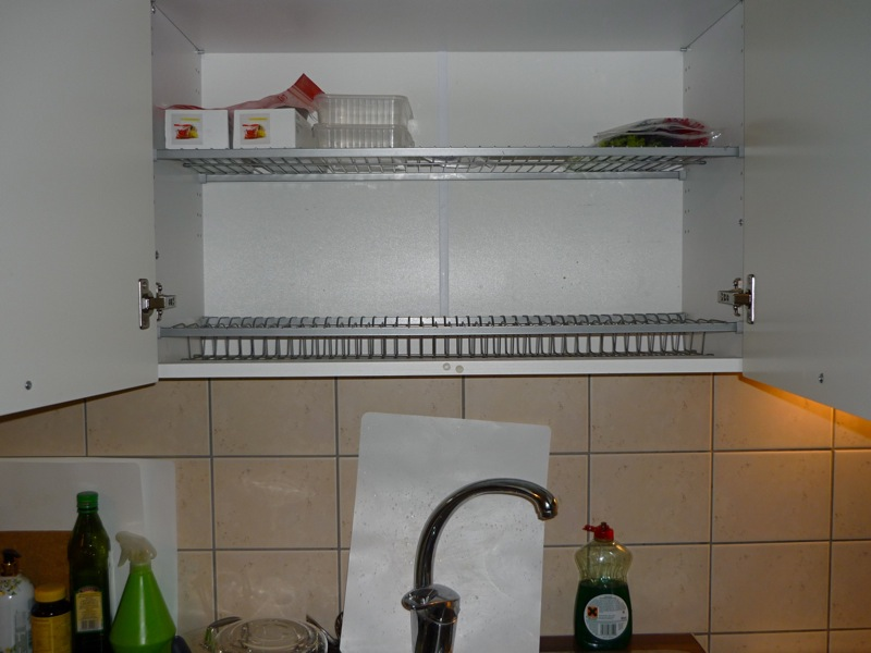 Kitchen Sink Rack Refurbiration
