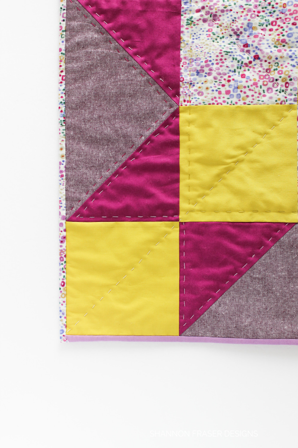 Indian Star Mini Quilt | Quilt Big Blog Hop | Shannon Fraser Designs