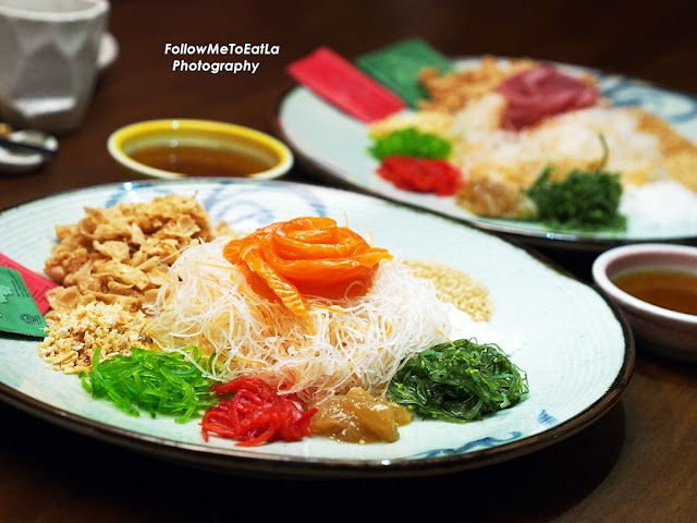 Japanese Yee Sang With Salmon 4 to 6 pax RM 38
