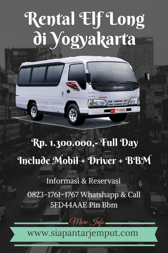 Rental Elf Short dan Elf Long di Jogja