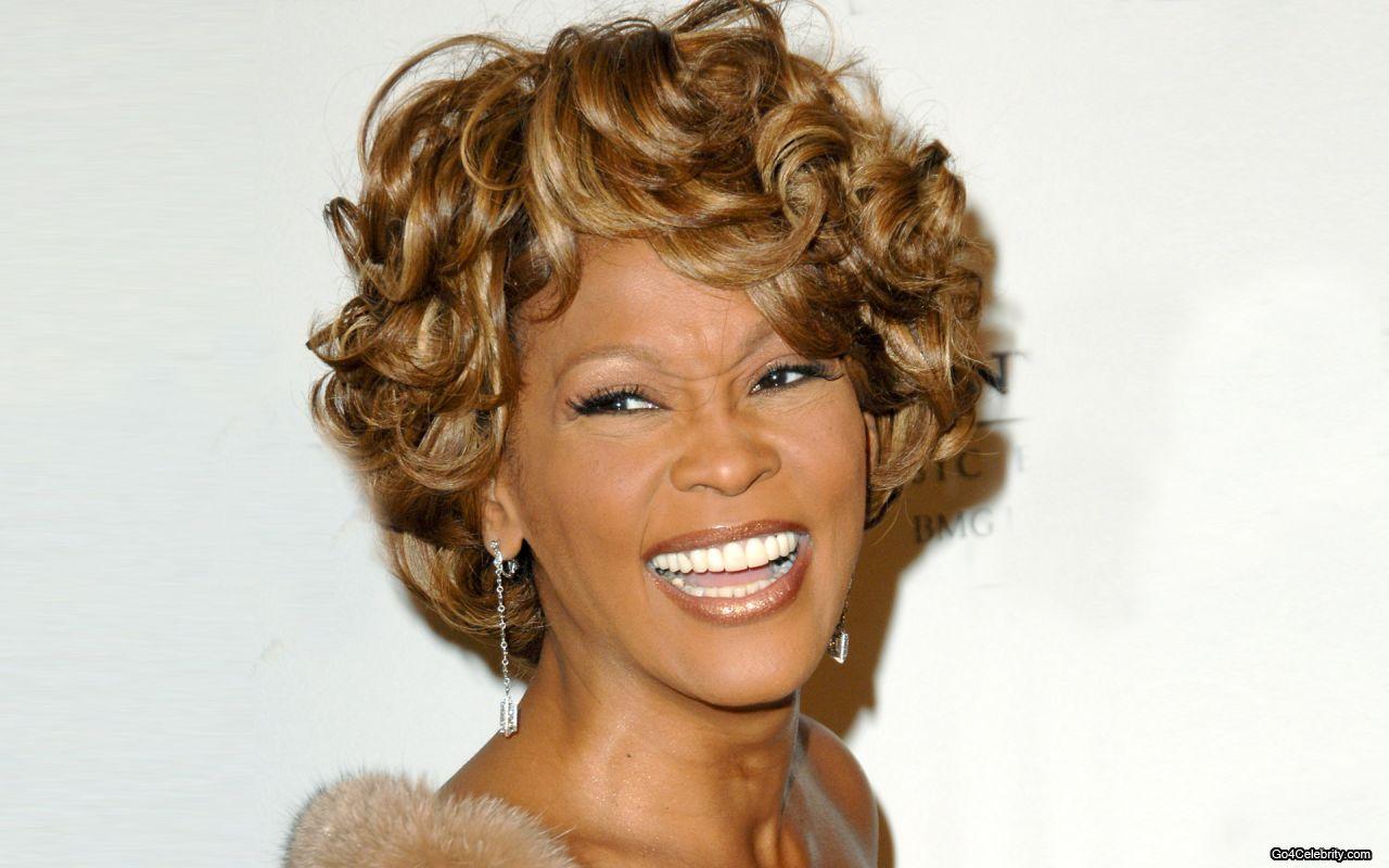 Whitney Houston Crack Cracking gum or sitting with