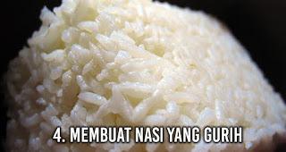 Membuat Nasi yang Gurih