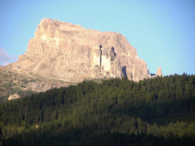 Cortina d'Ampezzo panorama dalla terrazza  le 5 Torri