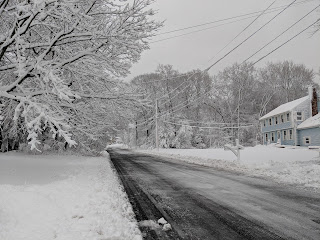With the right amount of help the DPW can clear the roads  in a reasonable time after a snow storm
