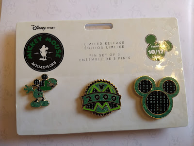 Mickey Mouse Memories pins October 2018