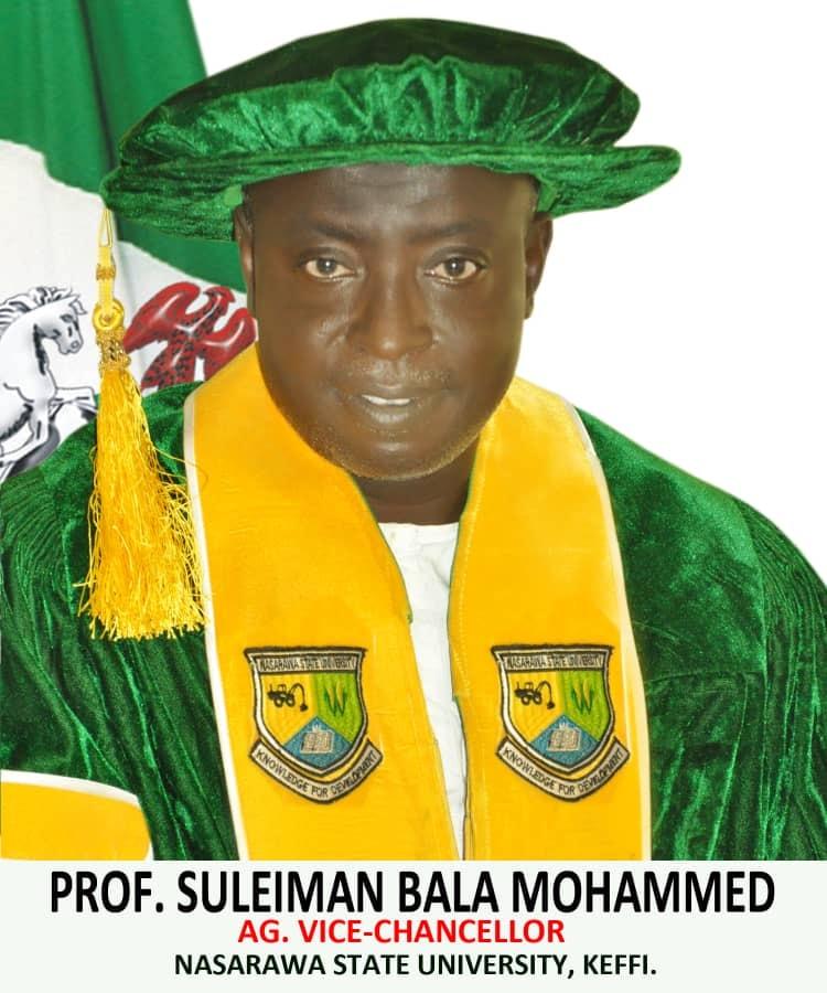 Prof. Suleiman Mohammed, VC, Nasarawa State University. Photo: NSUK Guide