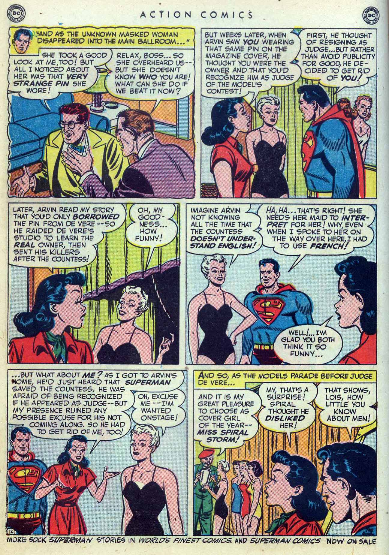 Read online Action Comics (1938) comic -  Issue #155 - 14